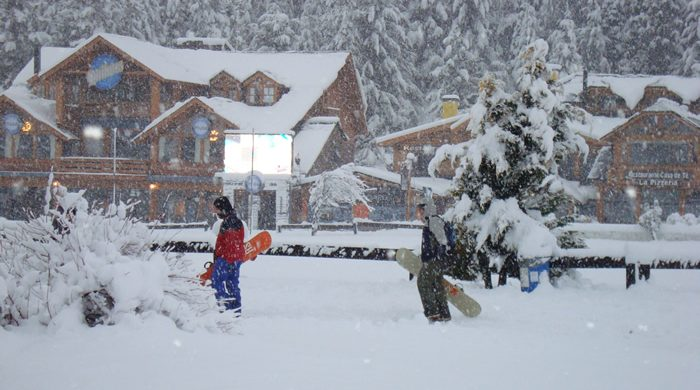 Nieve en Cerro Catedral - Bariloche