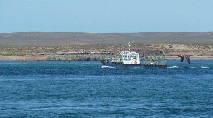 Embarcacion en Puerto Deseado