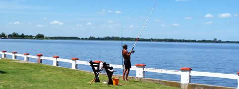 Pesca en San Miguel del Monte Buenos Aires